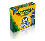 Ultra Clean Washable Crayons 64 count Front