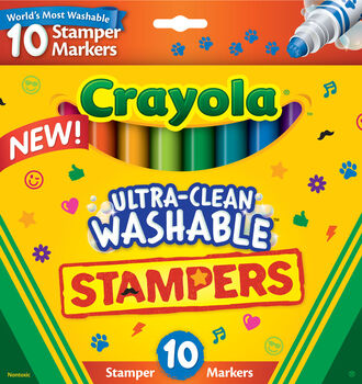 Ultra Clean Stamper Markers, 10 Count