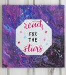 Galaxy Paint Canvas Craft