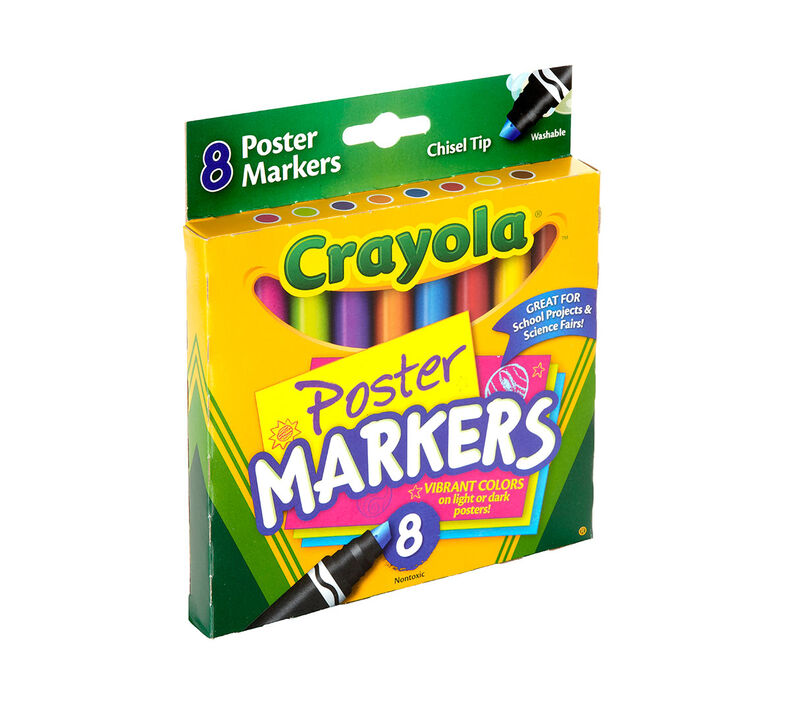 Poster Markers 8 ct.