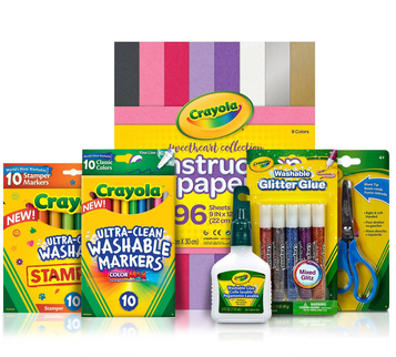 Valentines Day Crafts Valentine Card Supplies Crayola Com