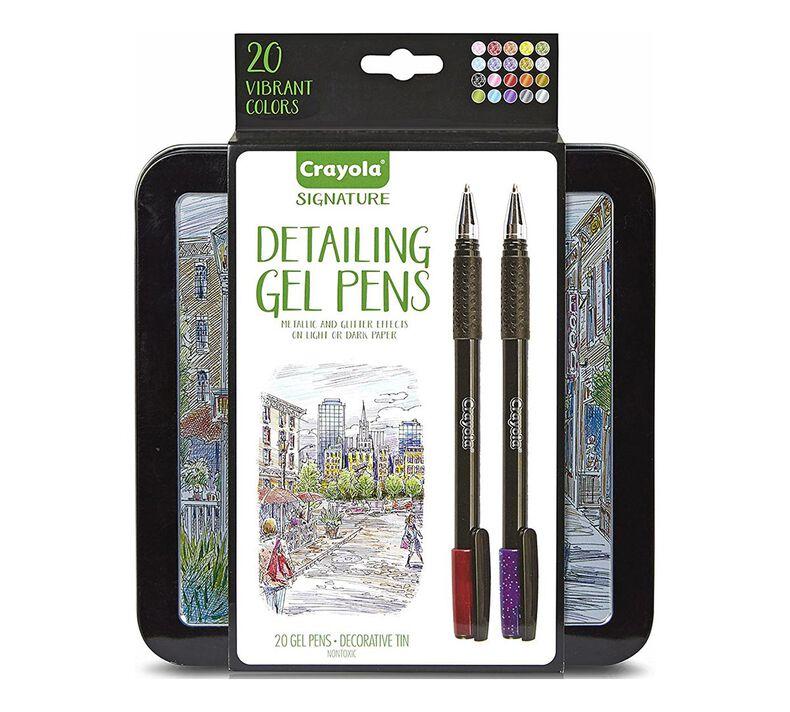 Signature Detailing Gel Pens, 20 Count