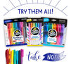 Crayola Take Note: Try Them All! Permanent Markers, Washable Gel Pens, Erasable Highlighters