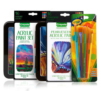 Signature Acrylic Painting Supplies Set