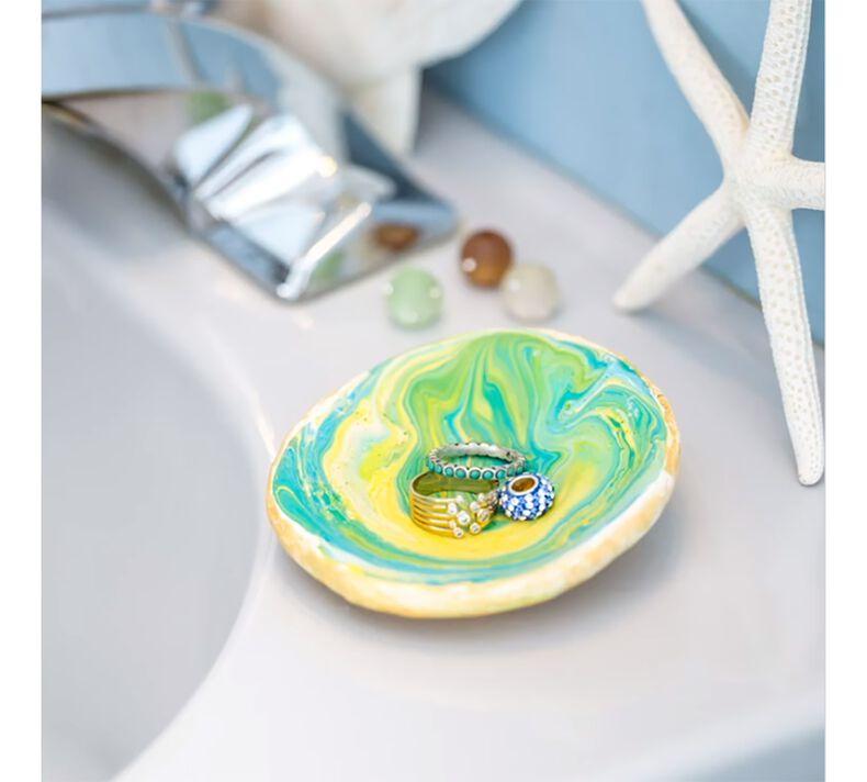 DIY Marbleized Jewelry Dish