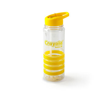 Crayola Stripe Band Water Bottle-Choose Your Color