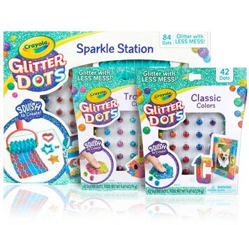 Glitter Dots Sparkle Station with Refills