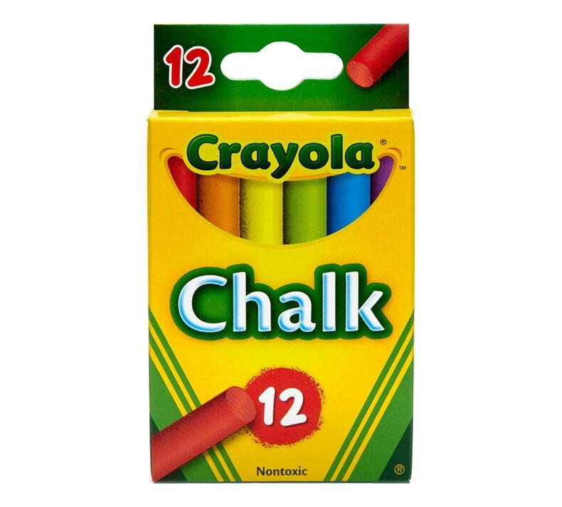 Multi-Colored Children's Chalk 12 ct.