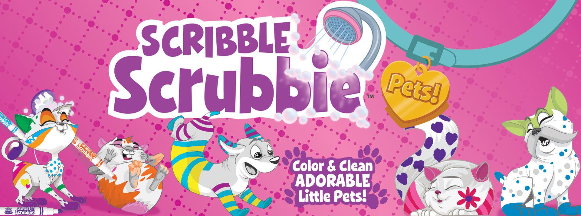 Scribble Scrubbie Pets