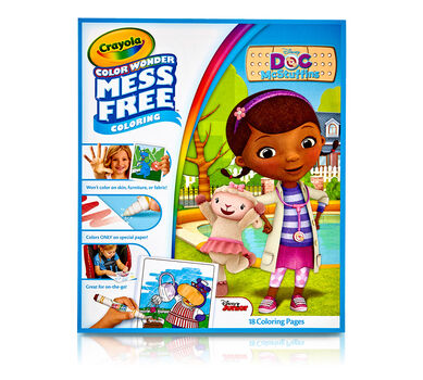 Color Wonder Mess Free Coloring Pad, Doc McStuffins