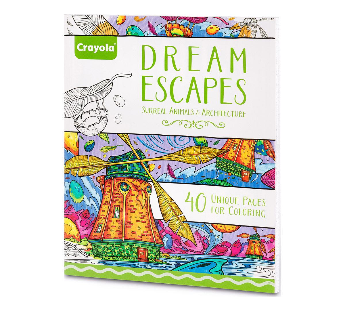 Crayola Dream Escapes Adult Coloring