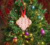 2-in-1 Holiday Ornaments Craft Kit Air Dry Clay Imprint Ornament