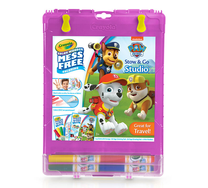 Color Wonder Mess Free Stow & Go, Paw Patrol