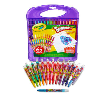 Twistables Mini Crayons & Paper