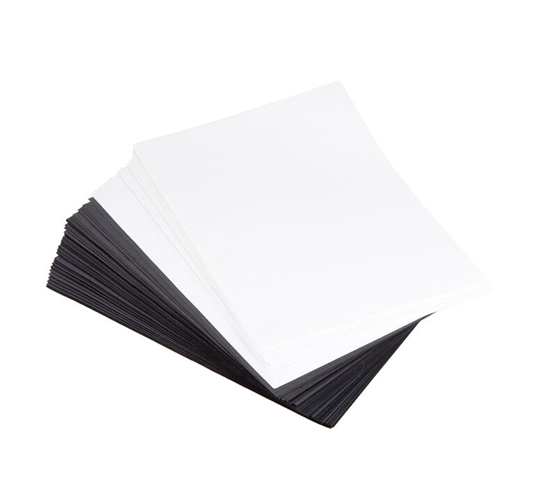 Black & White Construction Paper, 200 Count