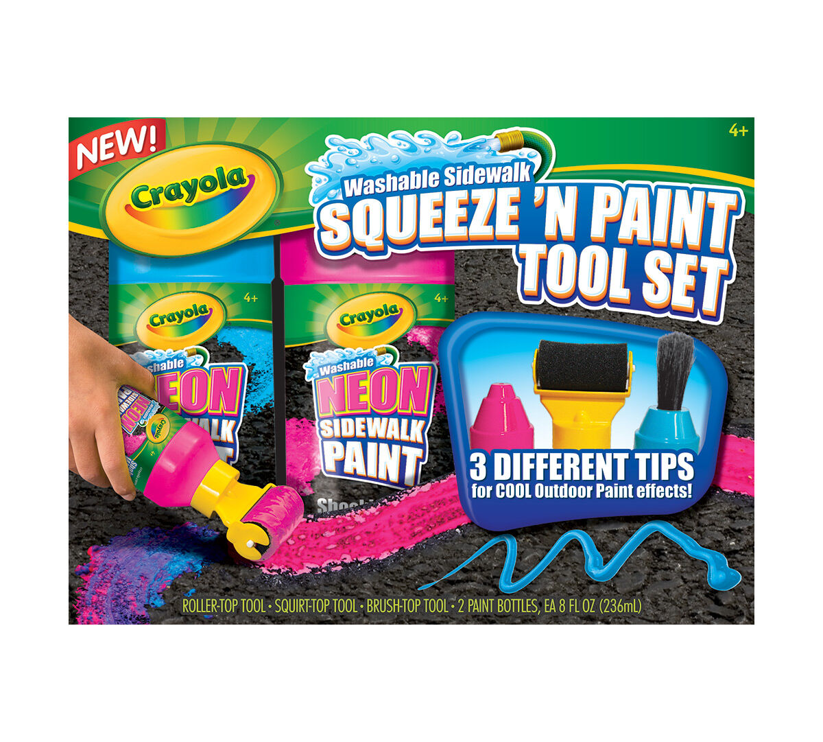 Squeeze 'N Paint Tool Set