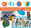 creatED Create-to-Learn Math Learning Games Kit includes project ideas