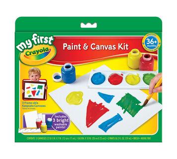 Framable Paint Canvas Creations - Build Dexterity