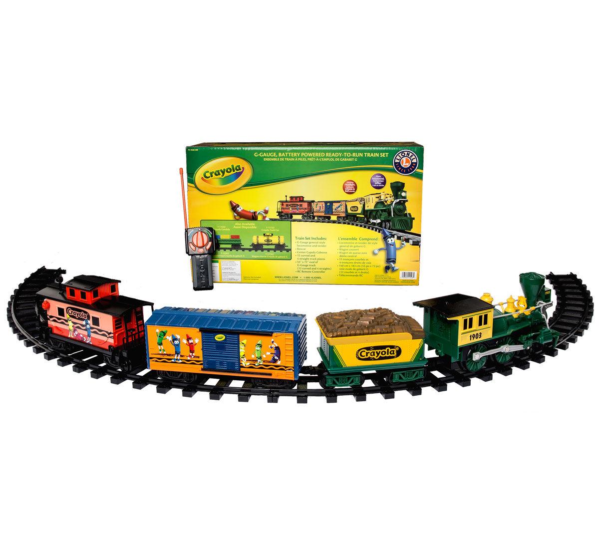 G-Gauge Lionel Train Set | Crayola