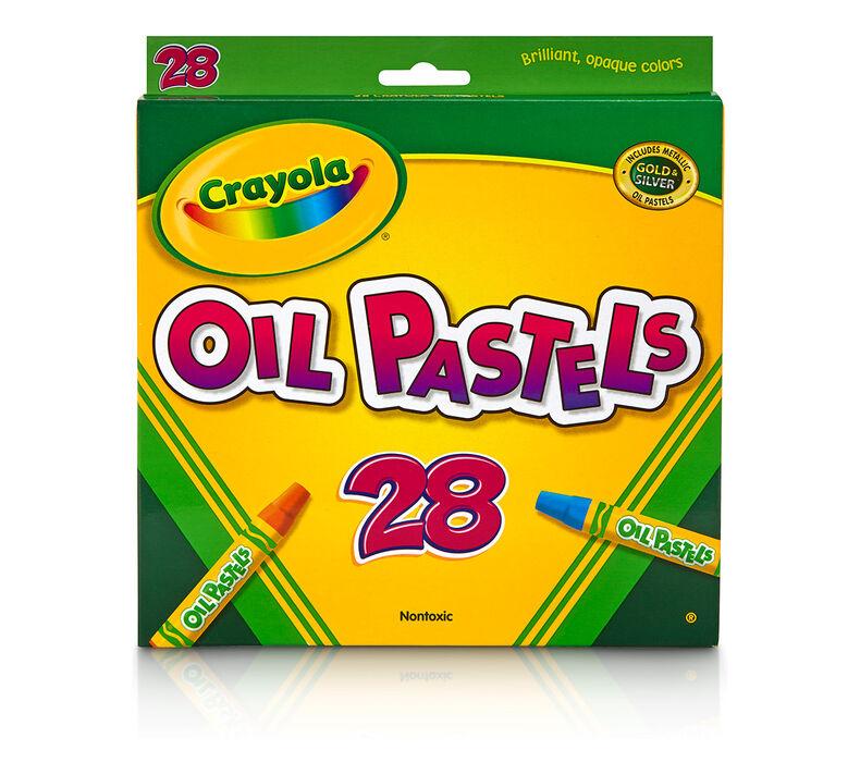Oil Pastels, 28 Count