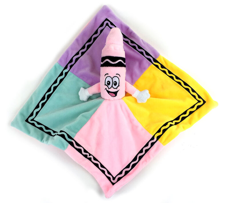 Pink Crayon Security Blanket