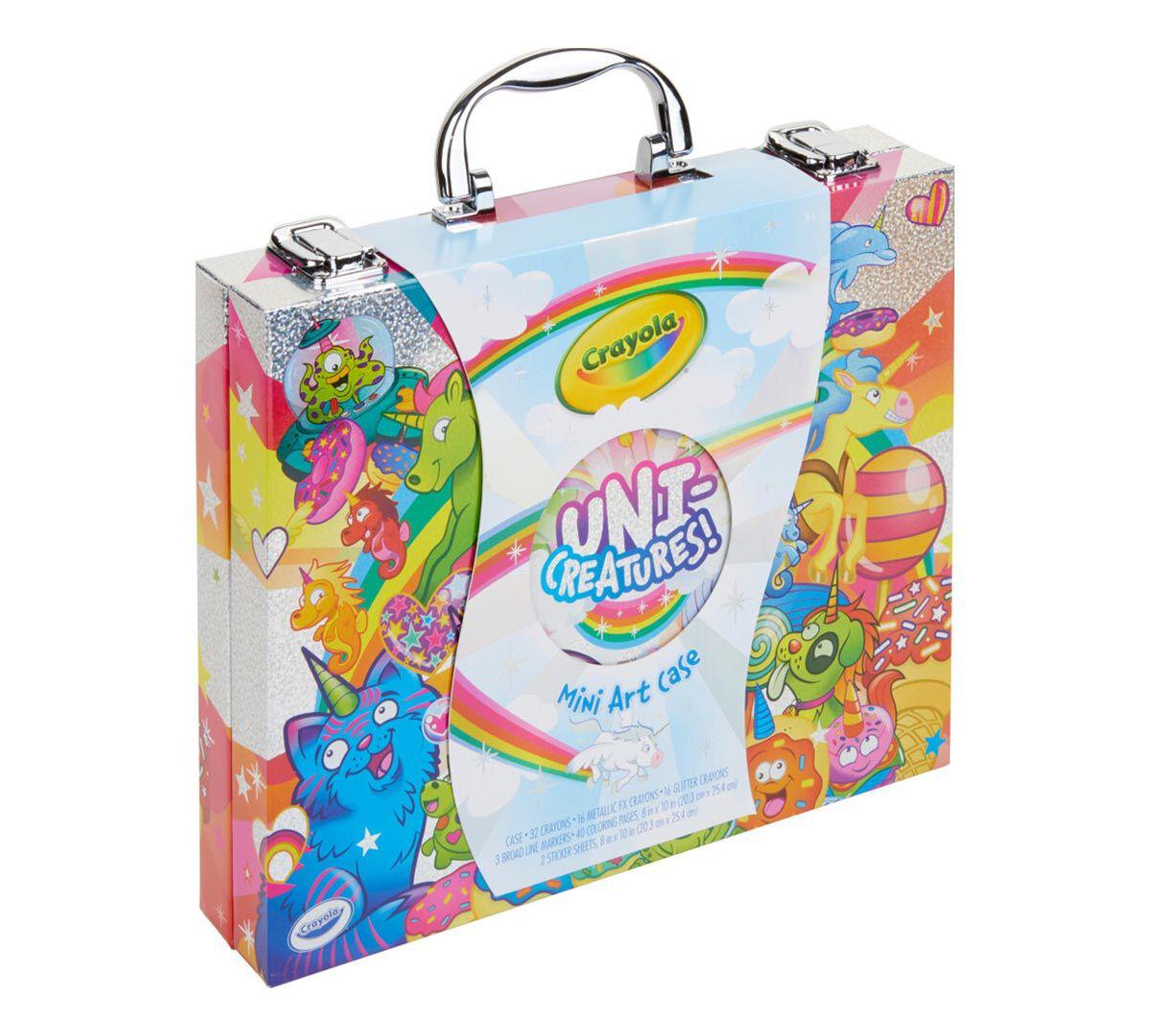 Crayola Uni Creatures Art Case Unicorn Coloring Pages
