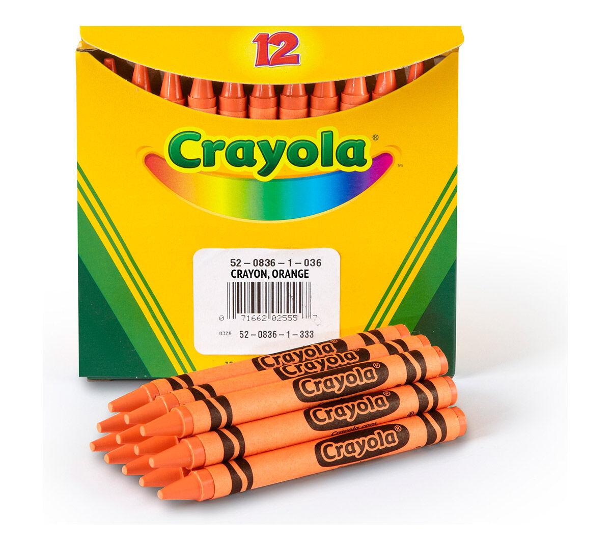 Crayola 12 Count Original Bulk Markers Orange