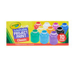 Washable Kids Paint, 10 Count Front of Box