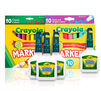 Marbleized Slime Craft Kit Components