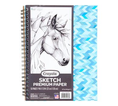 Spiral Sketch Pad, 50 Sheets