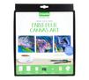 Signature Paint-Pour Canvas Kit Front View
