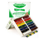 462 Count Colored Pencils Classpack, 14 Colors Left Angle View of Open Package