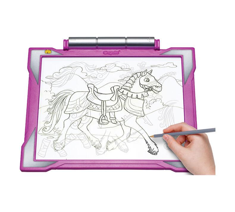 Light Up Tracing Pad, Pink