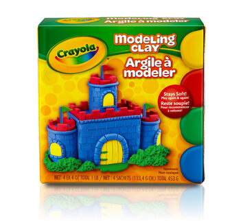 Crayola Modeling Clay front of package
