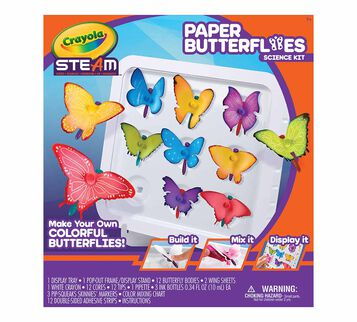STEAM Paper Butterfly Science Kit Front View