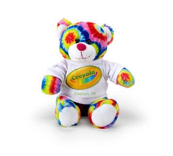 """Crayola 8"""" Tie-Dye Bear"""
