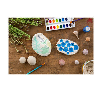 DIY Air Cry Clay Imprints