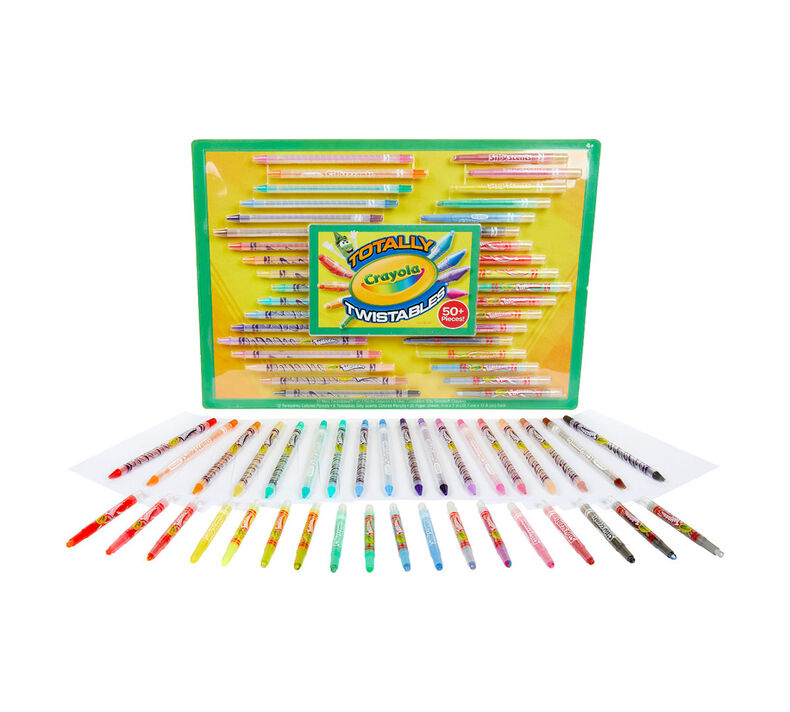 Twistables Crayons & Colored Pencils Set
