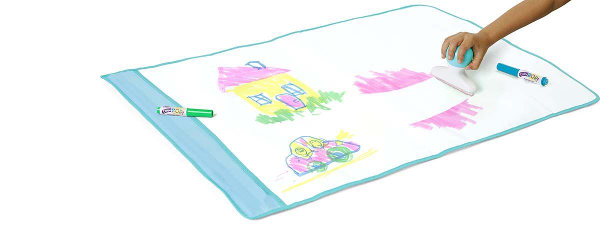 Crayola My First Colour Pop Magic Erase Doodle Drawing Watercolour Mat Painting