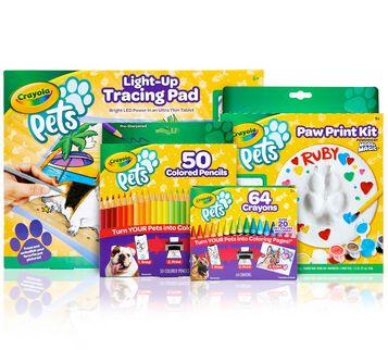 4-in-1 Crayola Pets Gift Set