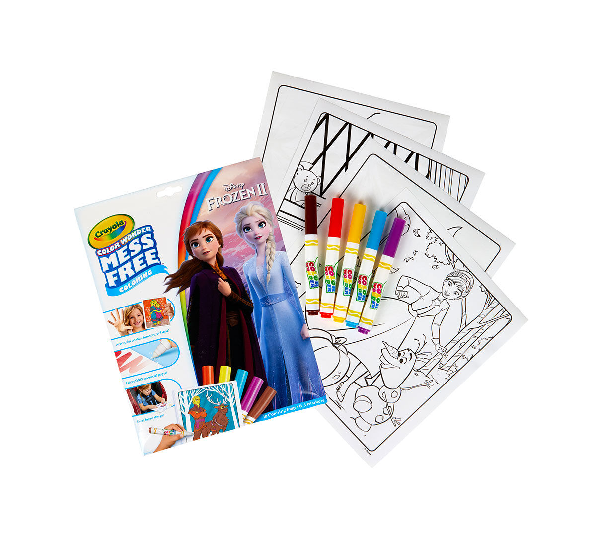 - Frozen 2 Color Wonder Coloring Book Crayola.com Crayola
