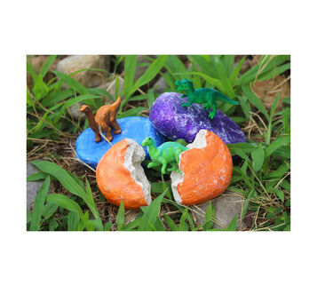 DIY Dinosaur Eggs Craft Kit