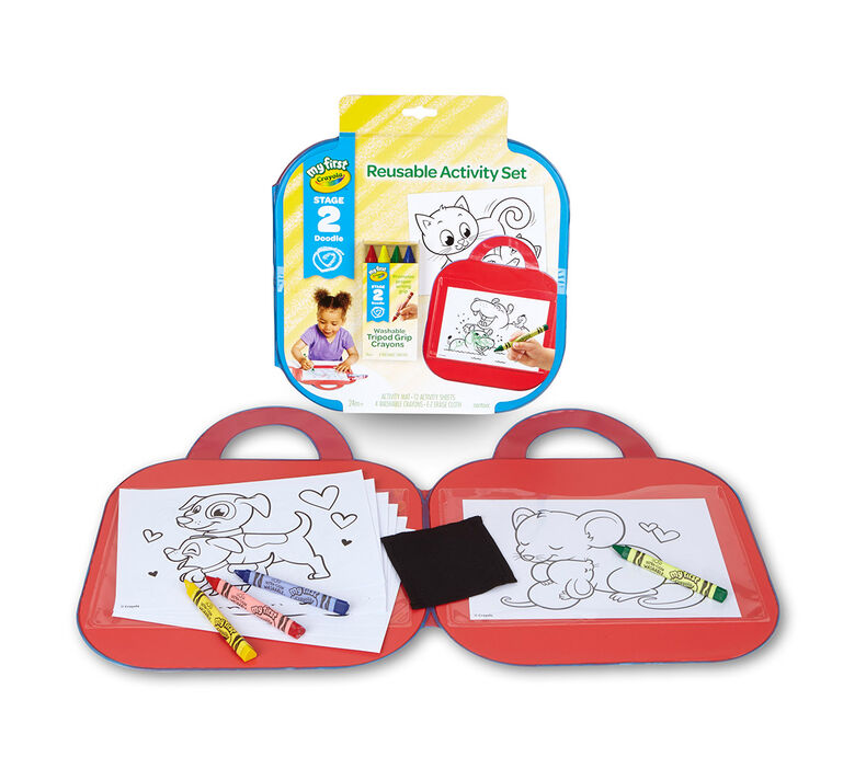 My First Crayola Reusable Activity Kit
