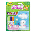 Scribble Scrubbies Pets Safari, Croc and Cobra Front View of Package