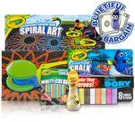 Crayola Sidewalk Chalk & Bubbles Value Set Front View