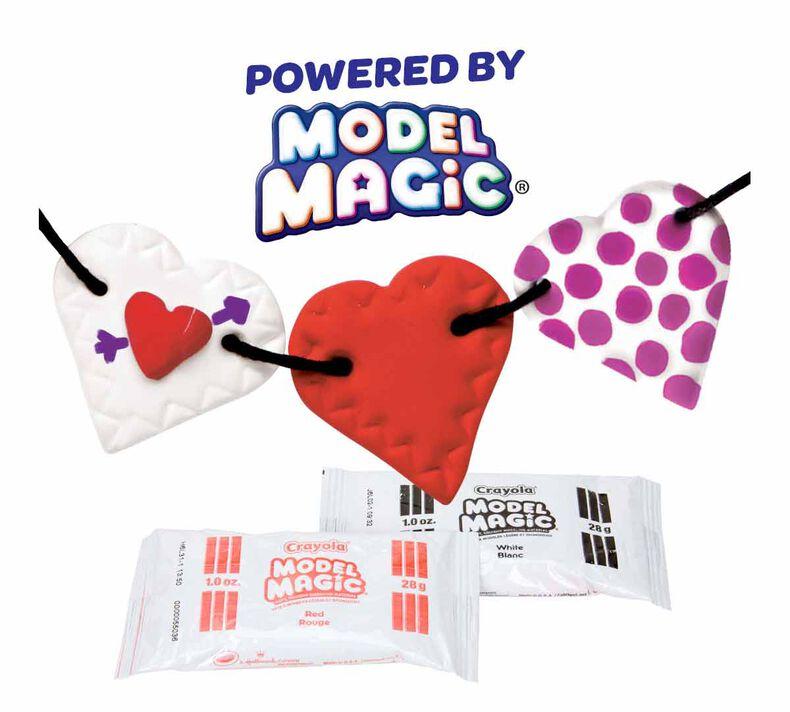Model Magic Heartstring Garlands