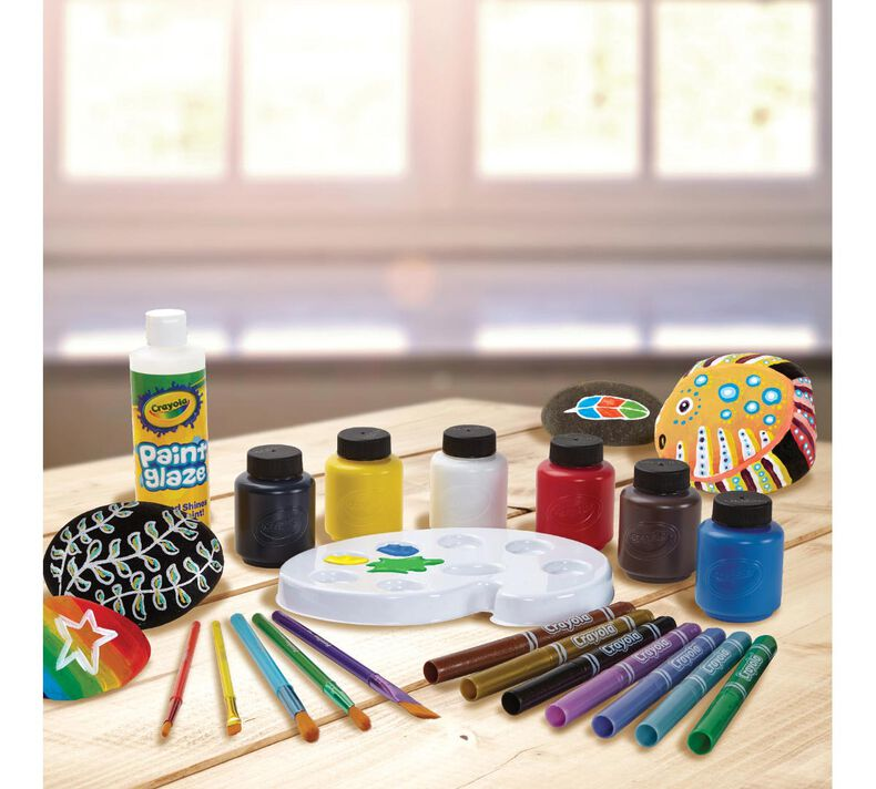 Crayola Rock Painting Set