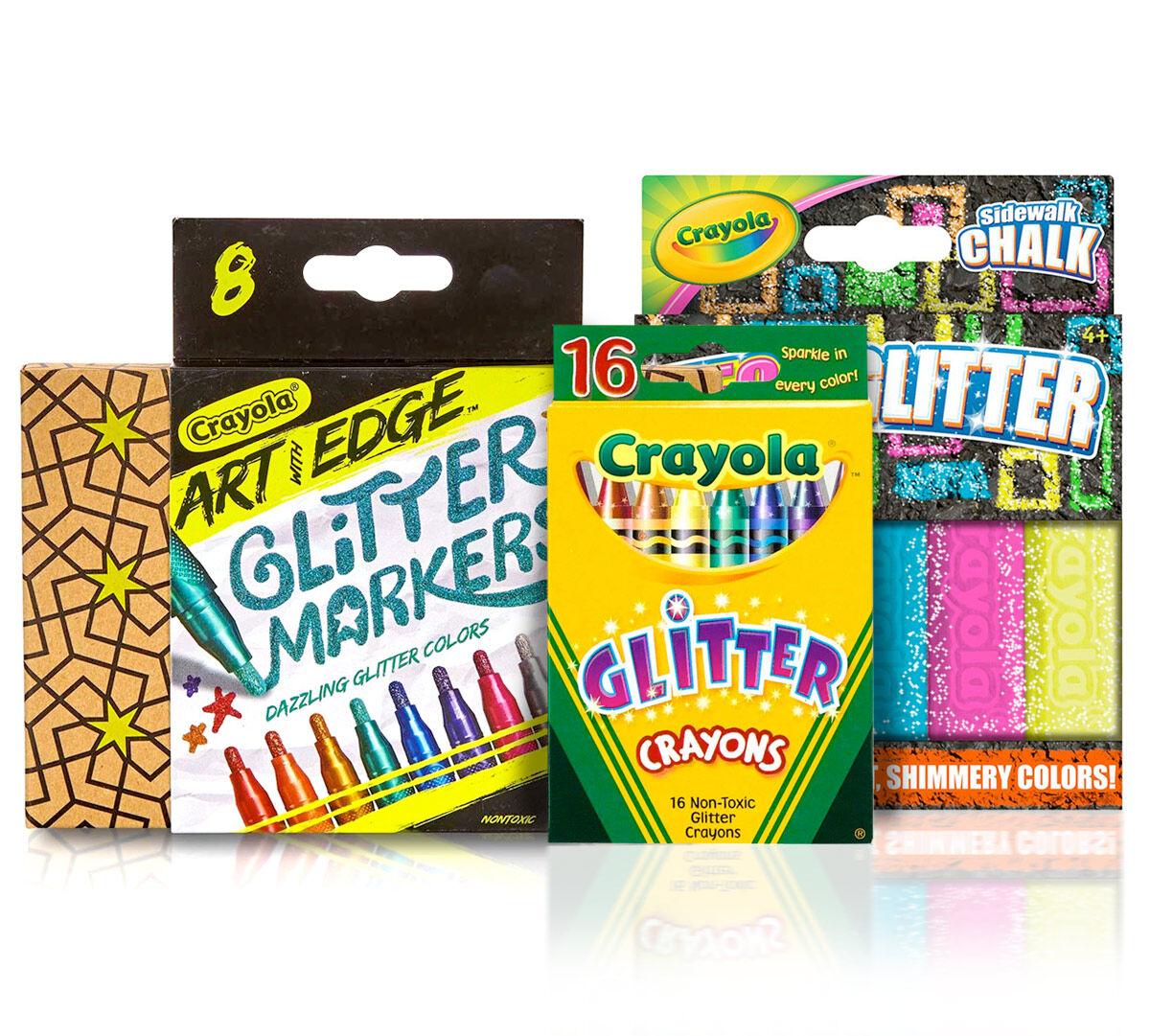 Stocking Stuffer Set Glitter Art Supplies