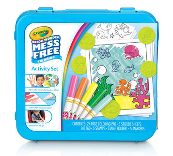 Color Wonder Activity set Seascapes