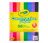 Construction Paper, 96 Count Front View of Paper